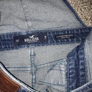 Hollister short overalls